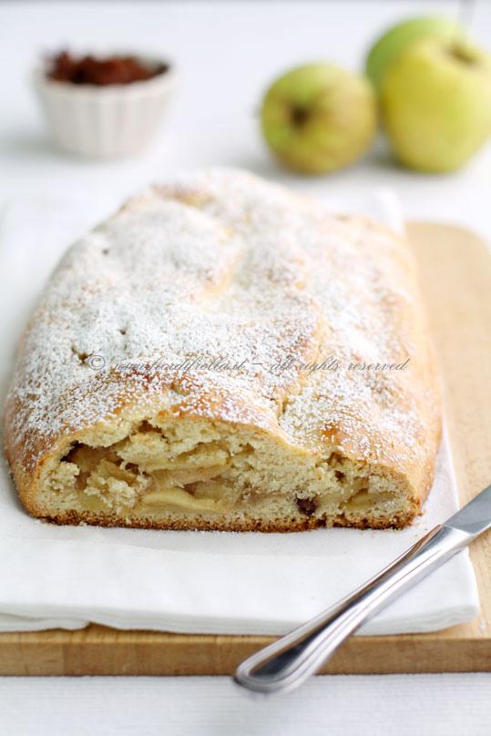 Strudel di mele in pasta frolla for Pasta frolla planetaria